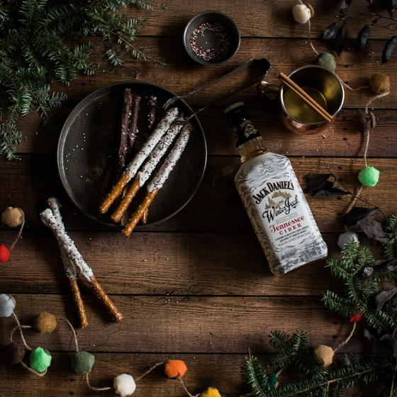 Dark, rustic food styling for winter treats | NH Food Photographer