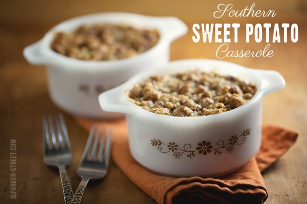 Classic Southern Sweet Potato Casserole | NH Food Photographer