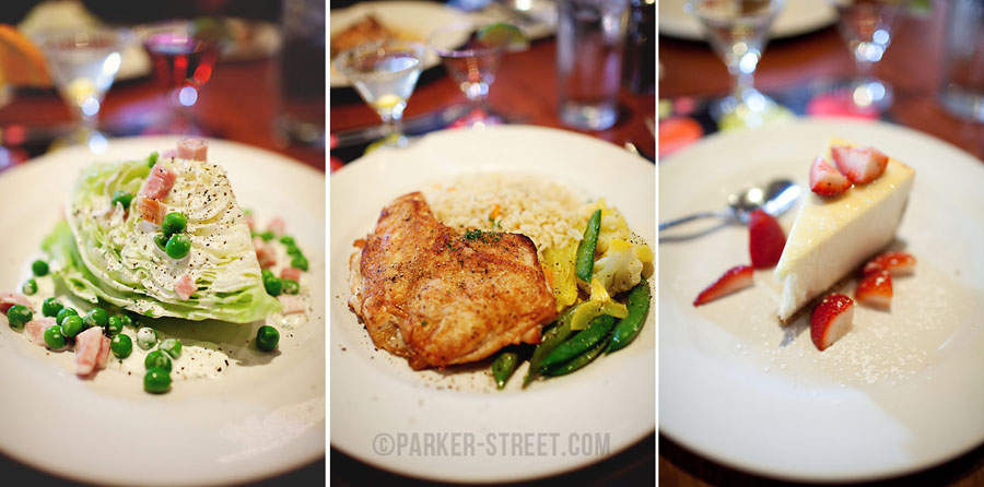 3-course meal for NH Restaurant Week 2013 at Cotton