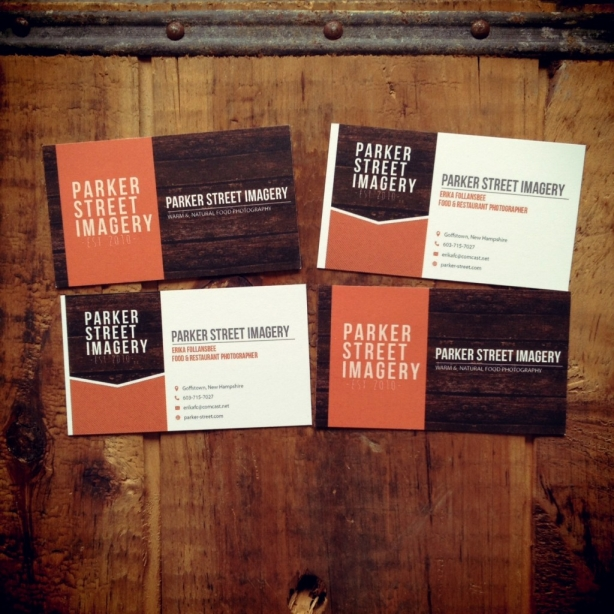 Parker Street Imagery business cards