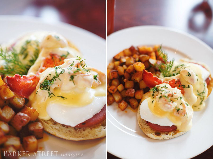 photos of brunch at Firefly in Manchester, NH