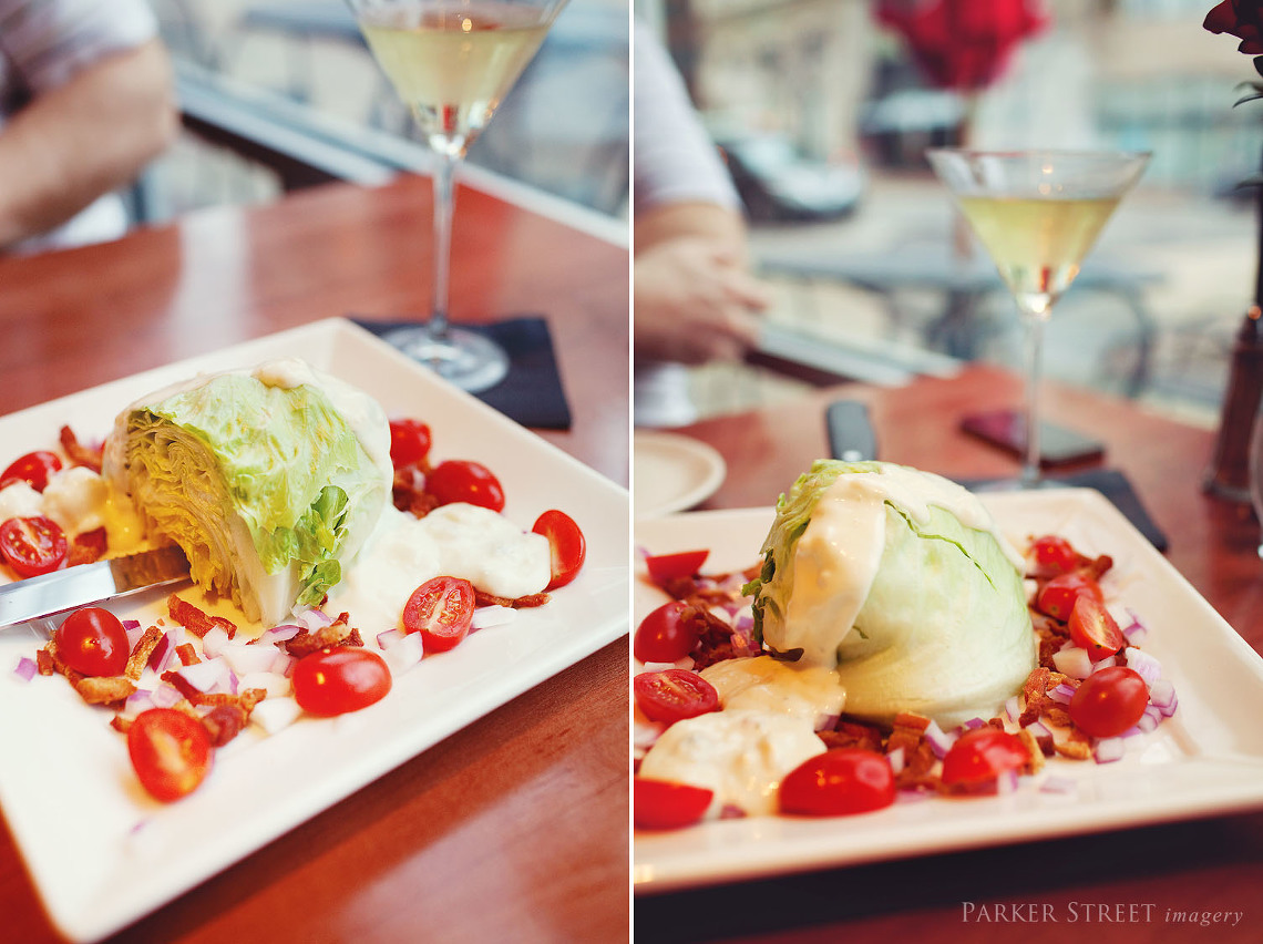 Eats Week Manchester NH | Rouge Grille | Wedge Salad