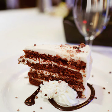 Hanover Street Chophouse Triple Malt Chocolate Cake