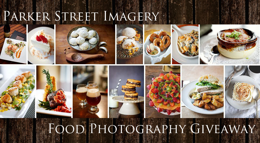 Food Photography Giveaway by Parker Street Imagery