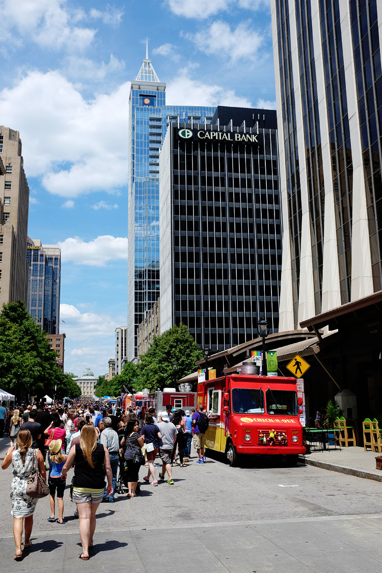 Downtown Raleigh Food Truck Rodeo May 3