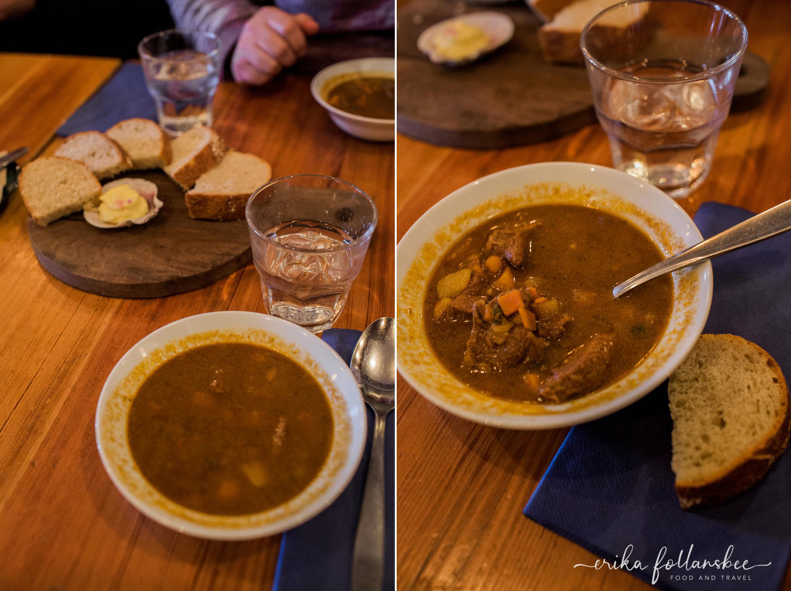 Meat Soup at the Icelandic Bar